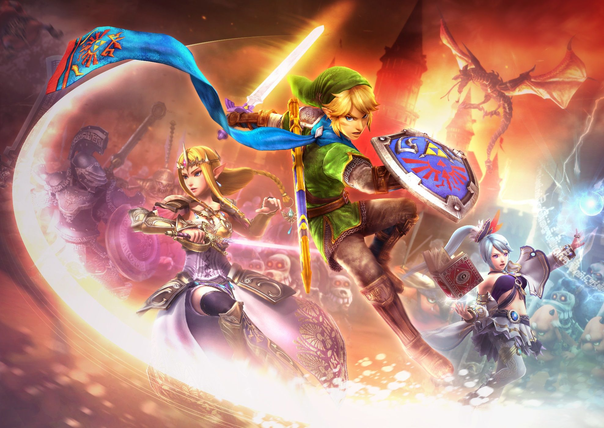 Hyrule Warriors Link Ponytail Google Search Zelda Hyrule Warriors Hyrule Warriors Warriors Wallpaper
