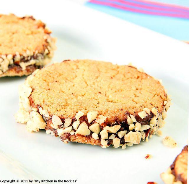 hazelnut chocolate cookies :)