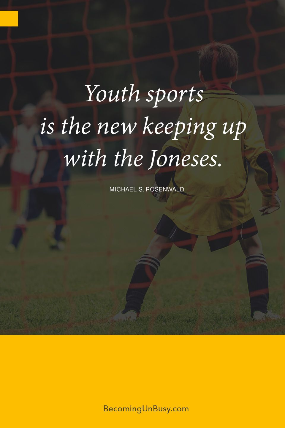 Youth sports is the new keeping up with the Joneses