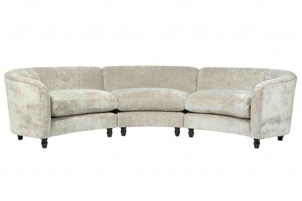 wholesale dealer 6baab 56bb7 Small Curved Sectional Sofa | The Davenport | Curved couch ...
