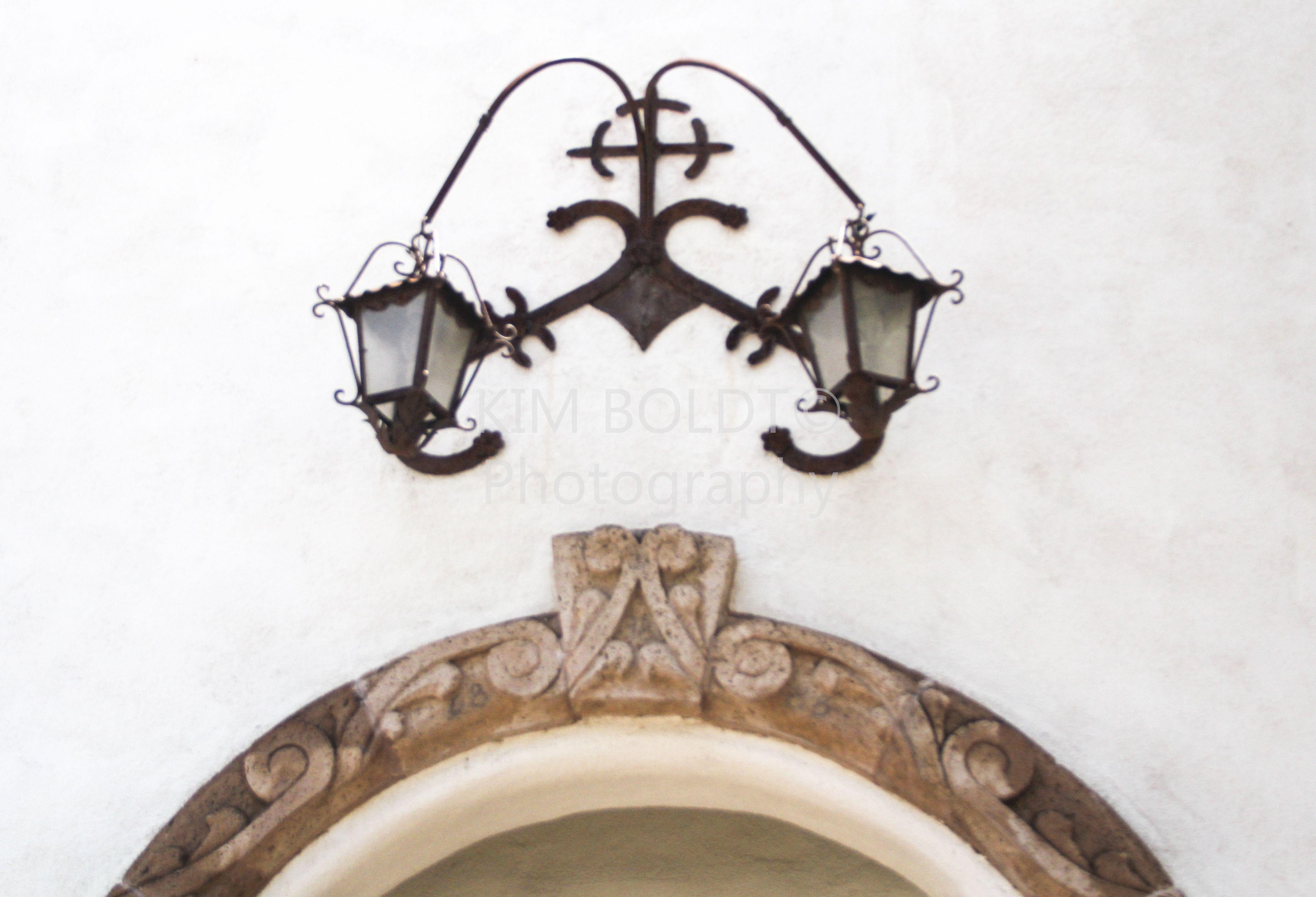 #Wrought Iron Light