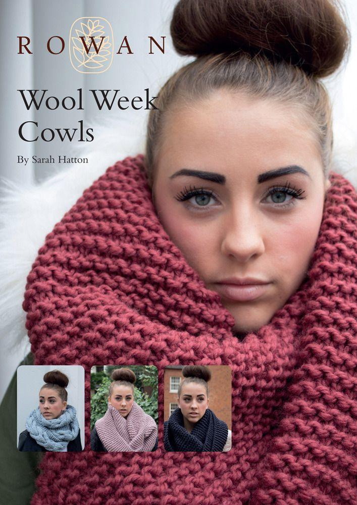wool week cowls in rowan big wool free free knitting patterns