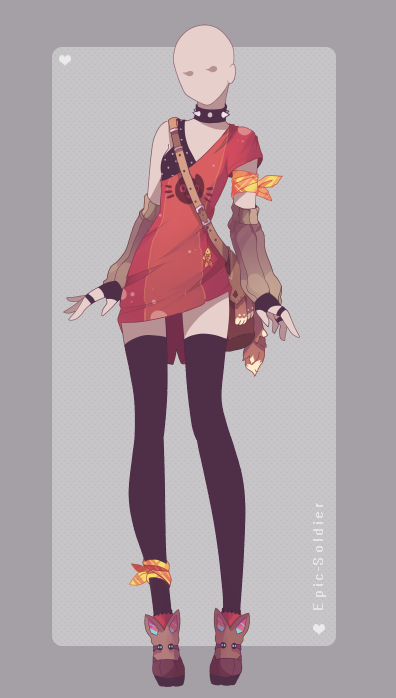 Outfit adoptable 76 (CLOSED!!) by Epic-Soldier | Rp Clothes!! in