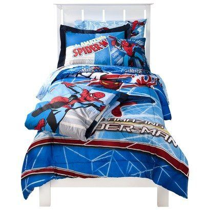 Spider Man Full Size Bed In A Bag With Sheet Set By Crb 129 99