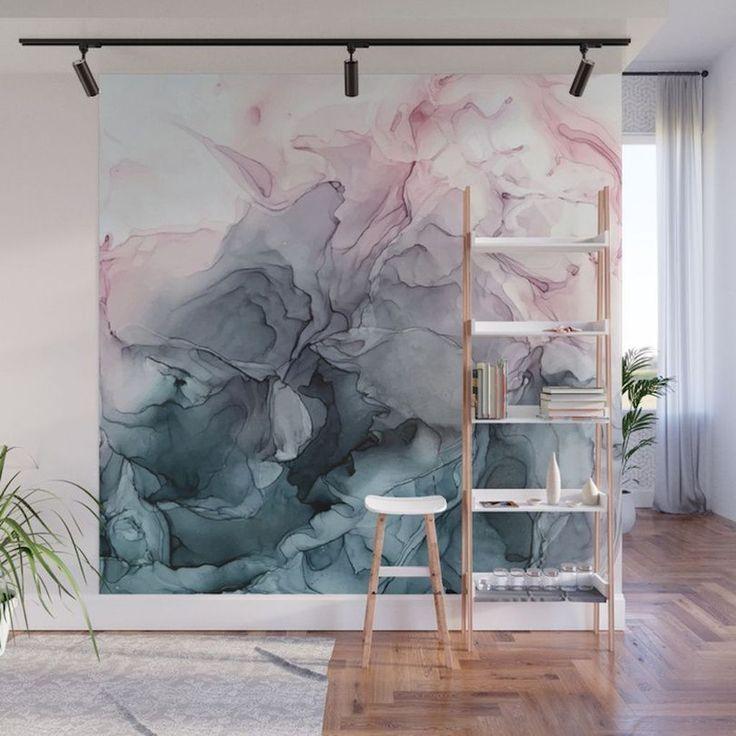 Wandgemälde #zuhausediy