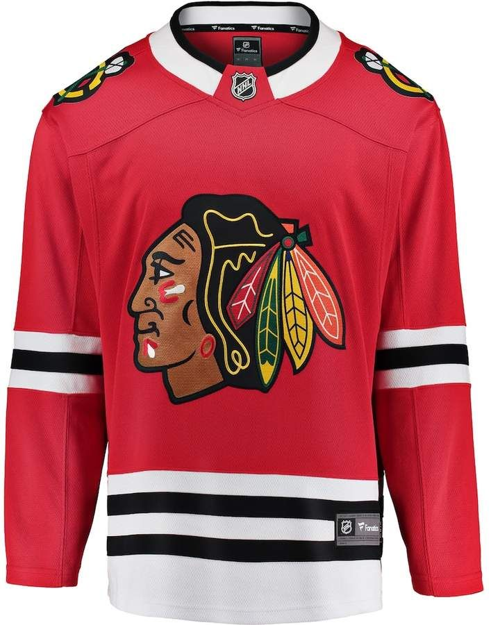 Men s Fanatics Chicago Blackhawks Breakaway Jersey  b521bff46