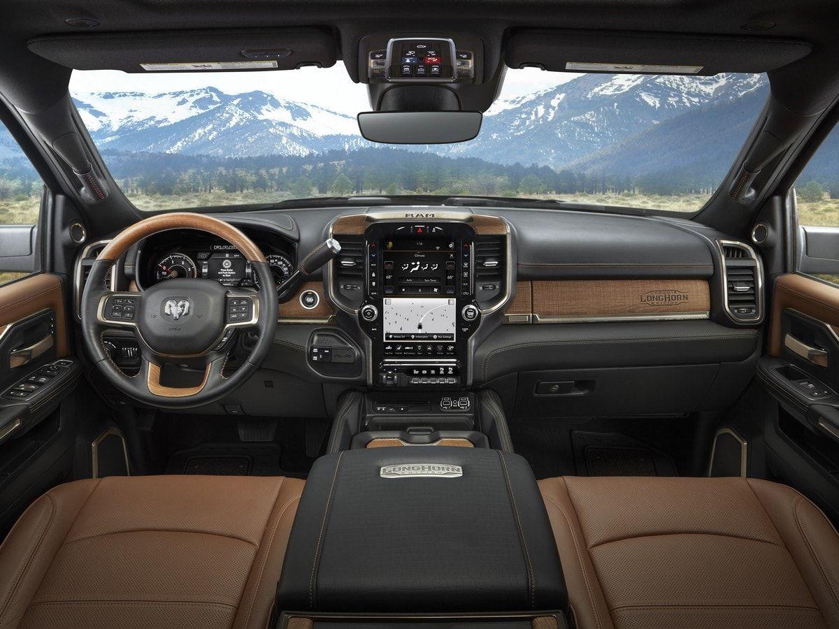 2019 Ram Heavy Duty Laramie Longhorn First Look Dodge Ram Longhorn Truck Interior Dodge Ram