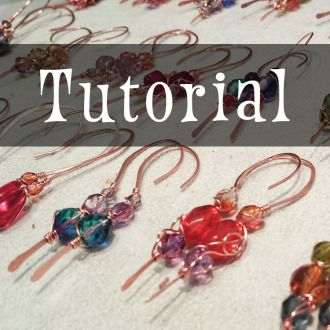 Copper Earrings & Production Techniques | Jewelry Project | YouCanMakeThis.com