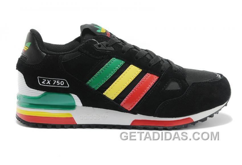 http: / / / adidas zx750 donne di colore rosso - verde