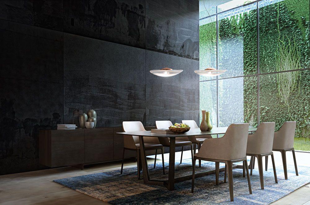 The Loop Pendants Designedconstance Guisset Illuminate This Classy Pendant Lighting For Dining Room Inspiration
