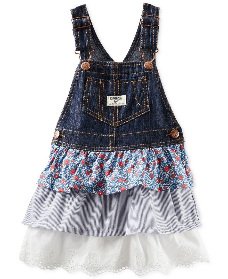 1088a7916c Osh Kosh Toddler Girls  Triple Denim Jumper