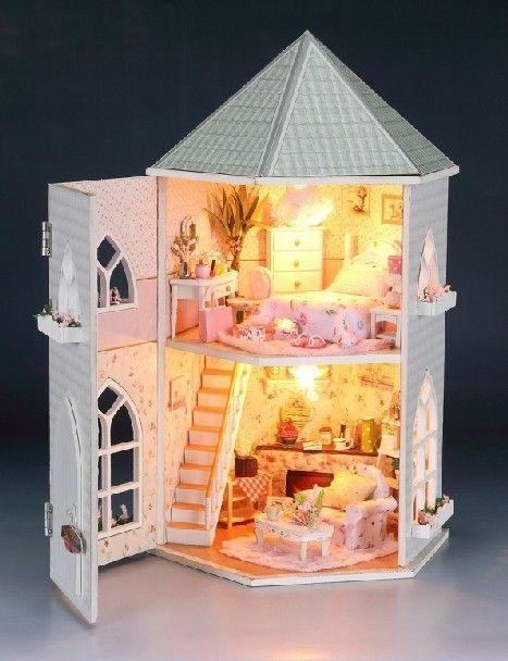 handmade dolls house furniture. Free Shipping New DIY Dollhouse 3D Miniatures Furniture Handmade Large . Dolls House D
