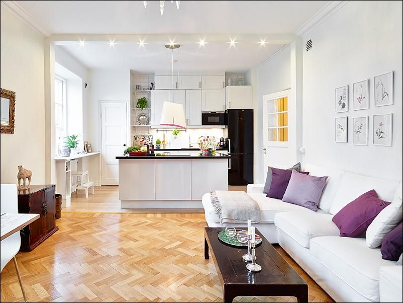 interior design ideas kitchen living room small space pros cons open closed kitchens best free home design idea inspiration - Living Room Designs For Big Spaces