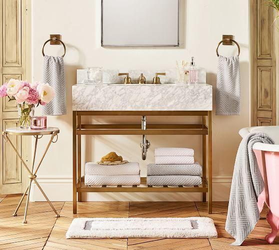 Morgan Memory Foam Bath Mat With Images Bathroom