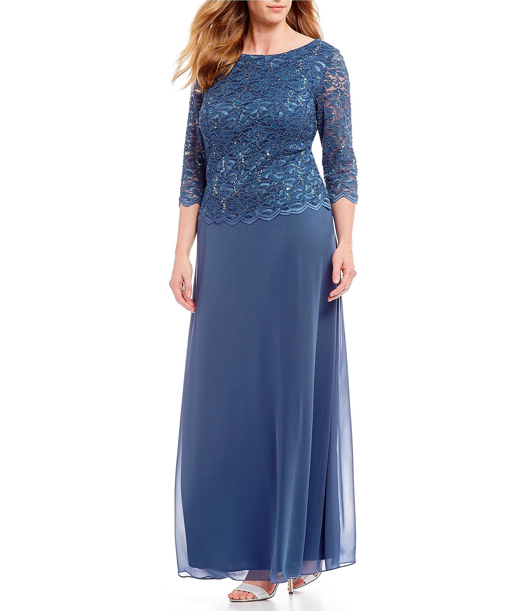 5ac75cbf40e Plus Size Prom Dresses Dillards