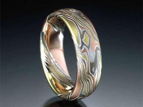 Samurai Styled Rings | Love of My Life | Custom wedding rings