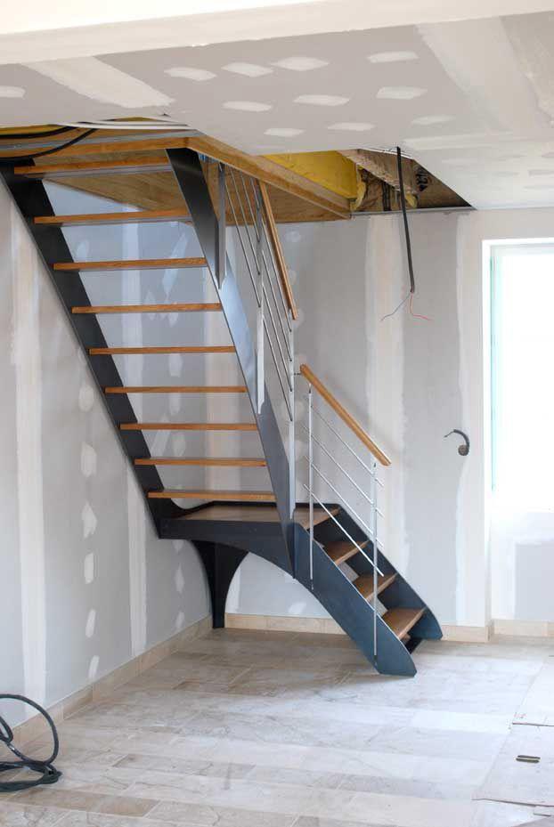 Escalier Atelier Evolute Architecture Interieure Ebenisterie