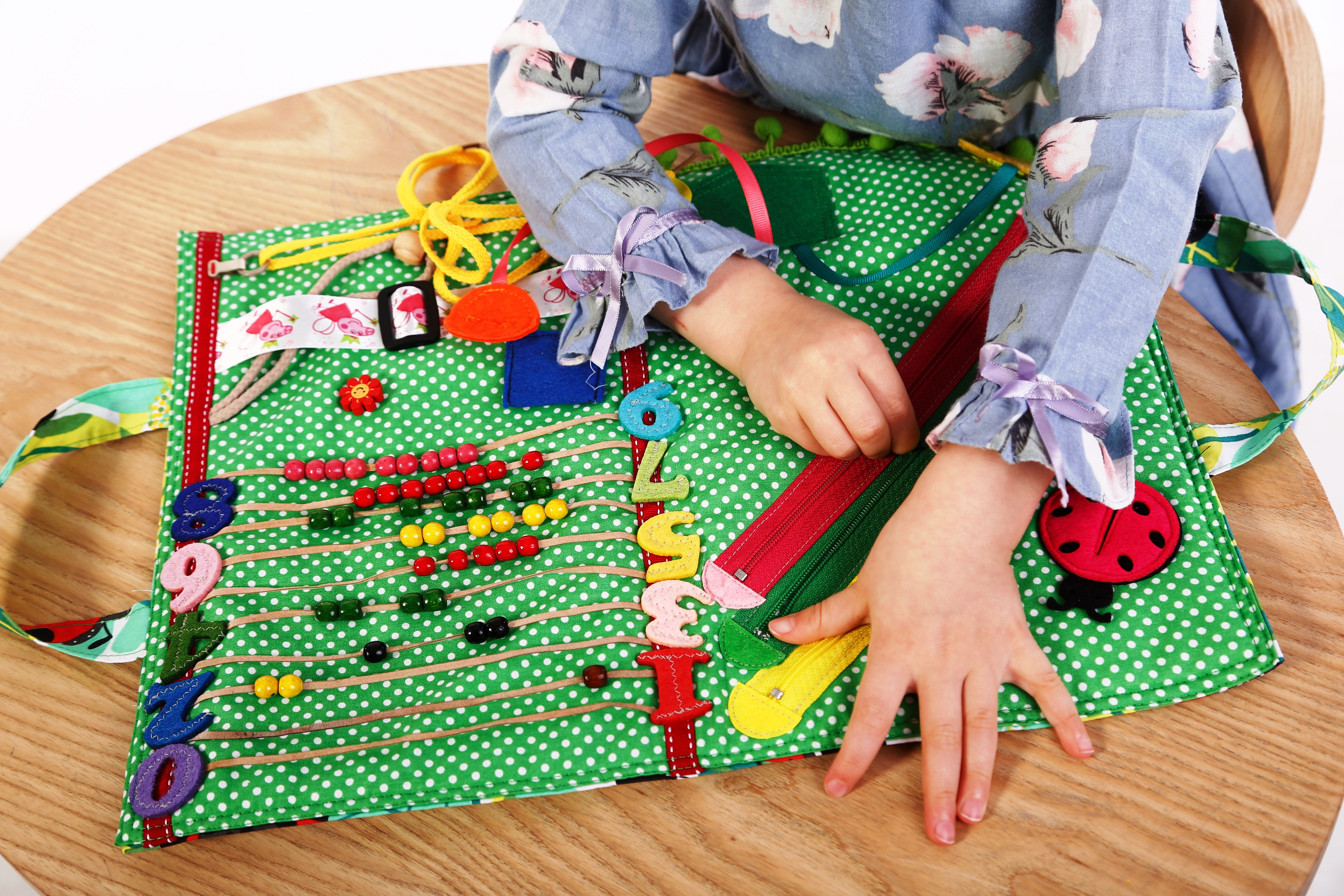 Busy book Tutorial Quiet book Travel toys Montessori toys Activity book Soft Busy Board Toddler toy Baby gift Fidget Play mat Special Needs