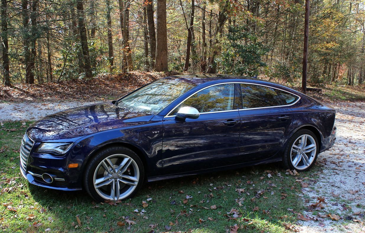 Lovely 2013 Audi S7 In Estoril Blue