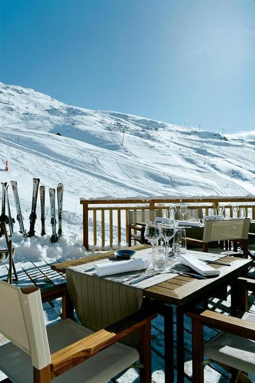 Oh, this looks so amazing ♥ Amazingly COLD! Apres Ski Party anyone?
