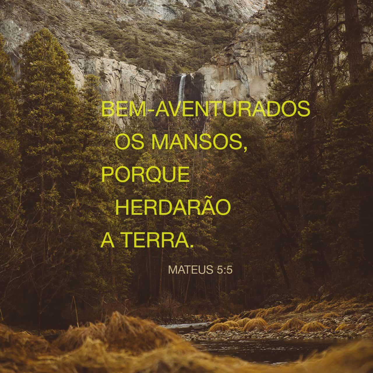 Mateus 5 5 Felizes As Pessoas Humildes Pois Receberao O Que