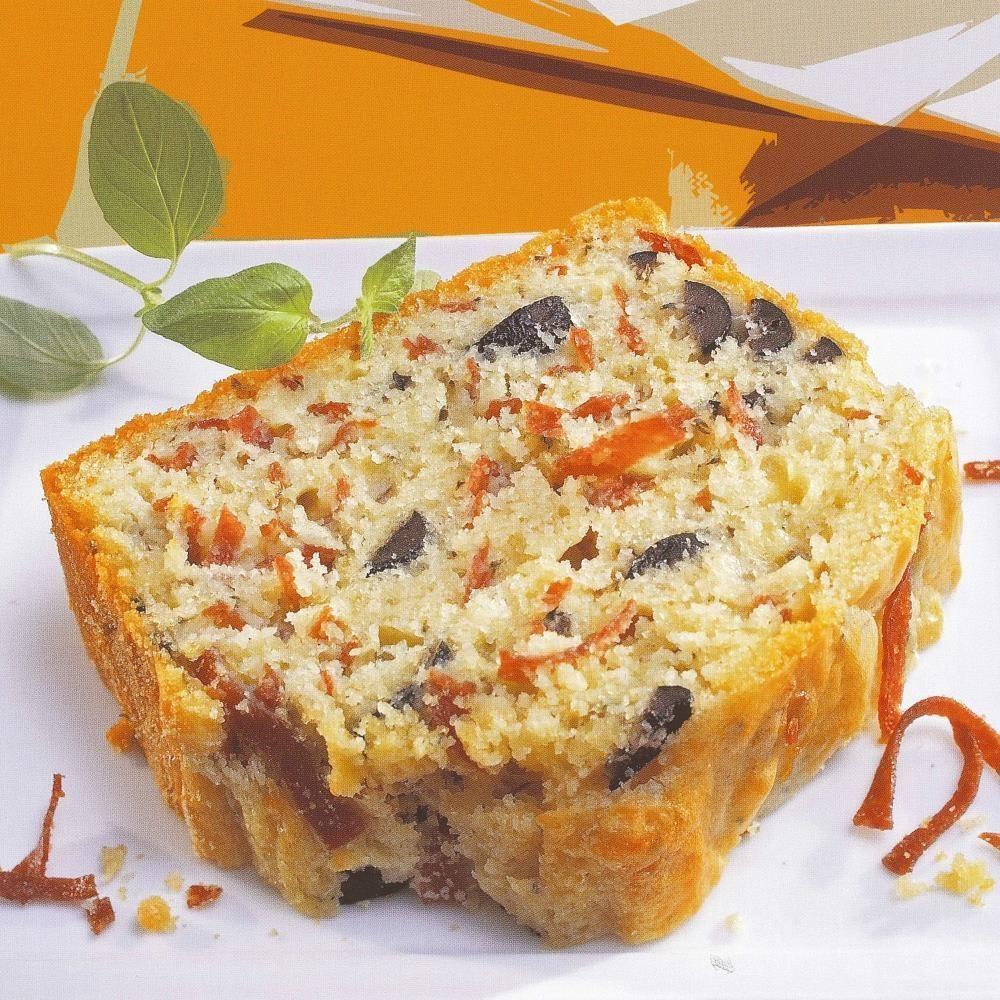 Cake Proven 231 Al Olives Et Salami Recette Dr Oetker