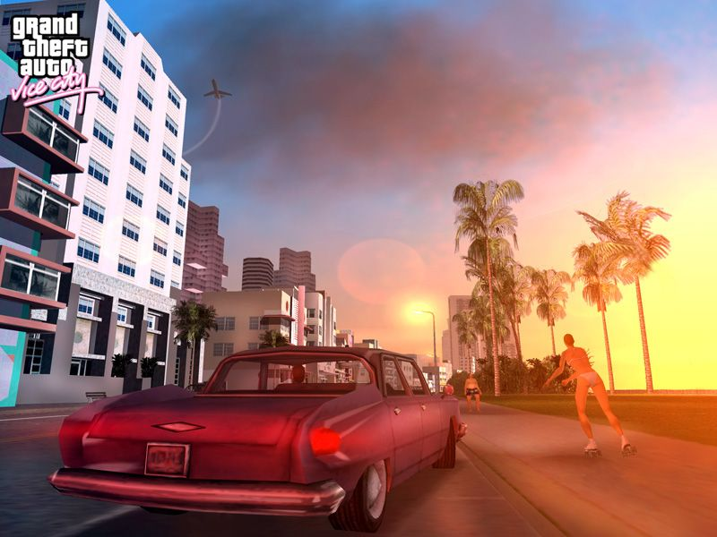 Gta Vice City Wii Sports Video Games City Aesthetic