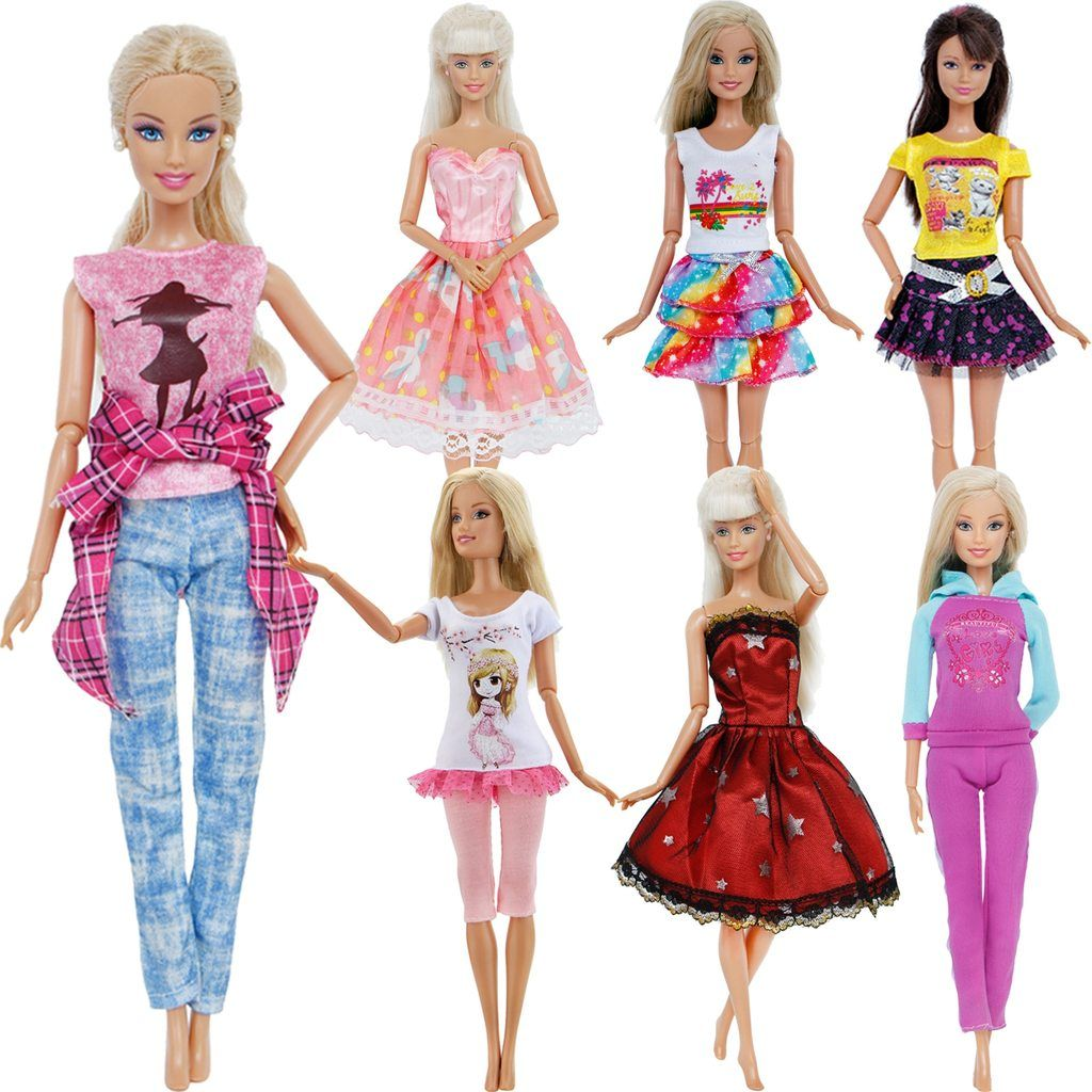 "Black Sport Fashion clothes Shirt Trousers Outfit for 11.5/"" Barbie doll"