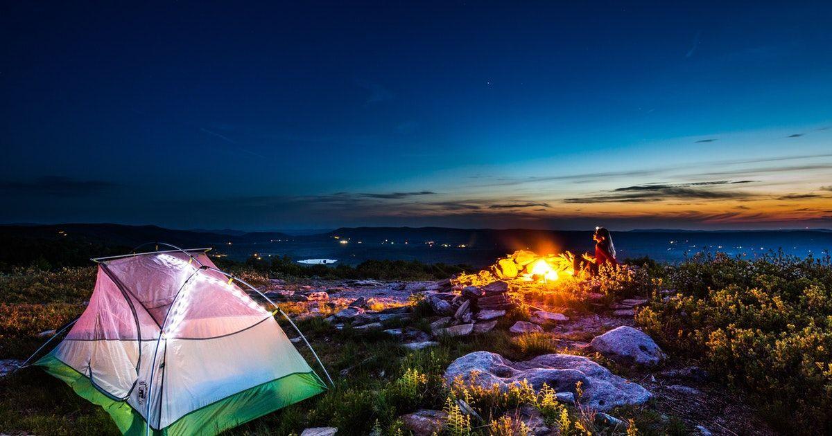 Camp at Bear Rocks Hiking in virginia, Camping locations