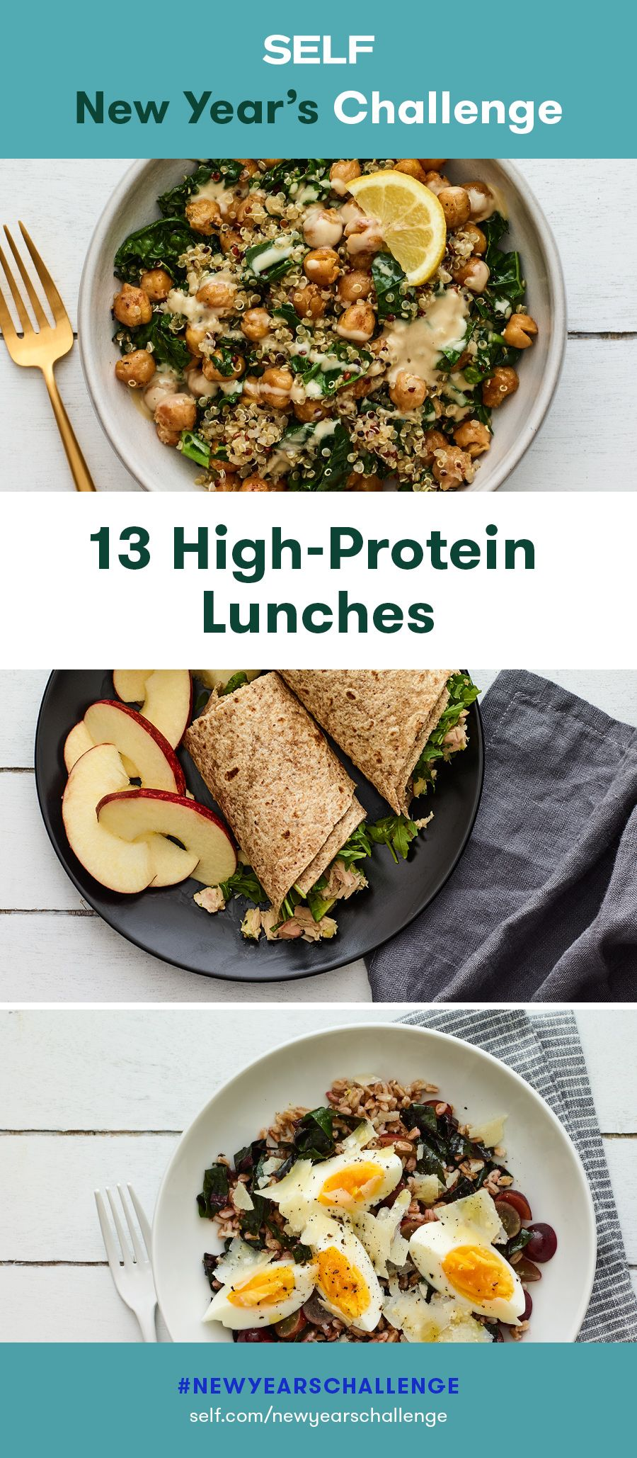 13 High-Protein Lunches You Can Bring to Work
