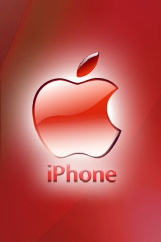 Iphone Red Apple Theme Bts In 2019 Iphone Logo Apple
