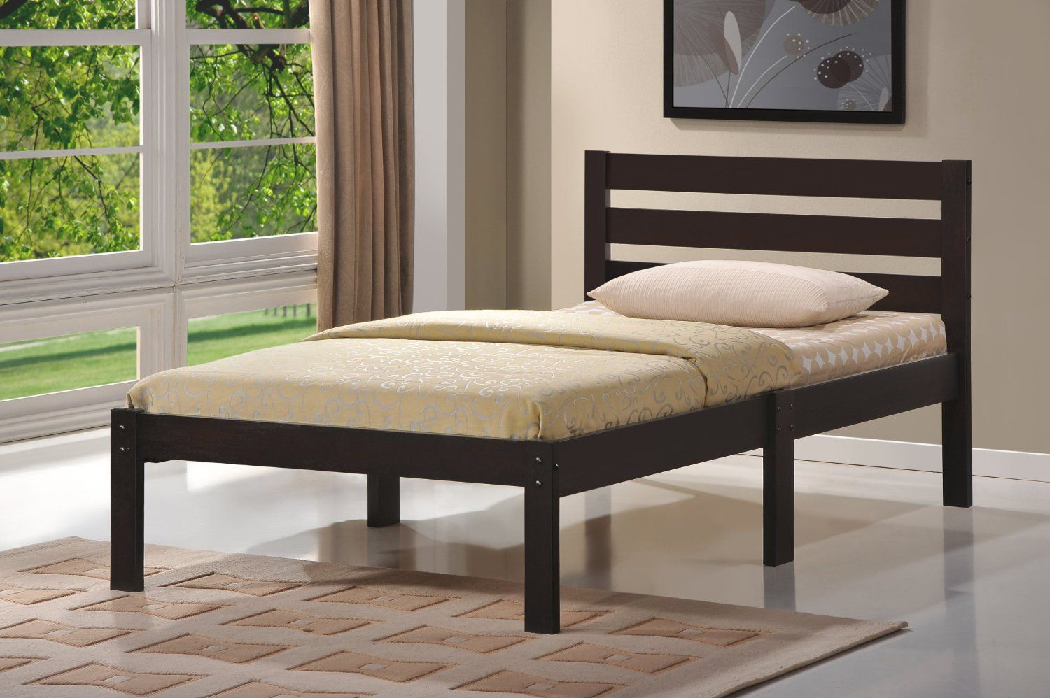 156.00 Home Life Short Headboard Espresso