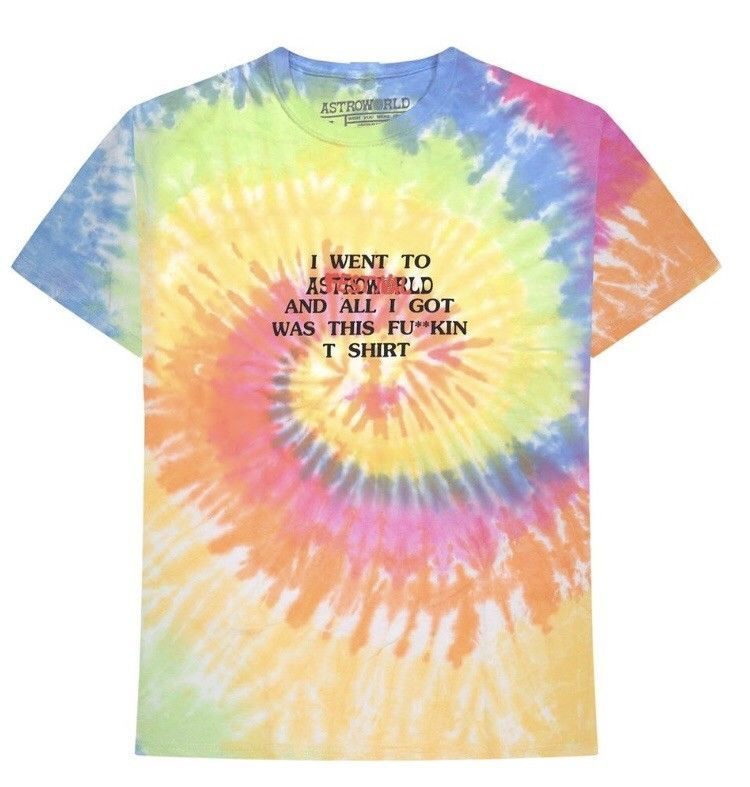 c2679d69c73a Travis Scott Astroworld Astro Fest T-shirt Extremely Limited Tie Dye # fashion #clothing #shoes #accessories #mensclothing #shirts (ebay link)