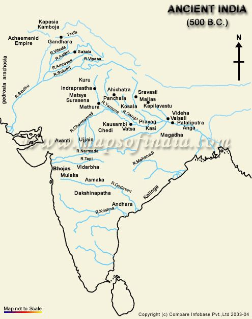 ancient indian map of 500BC Mad maps Pinterest