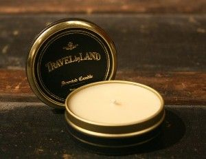 Travel By Land Candle In Lavender