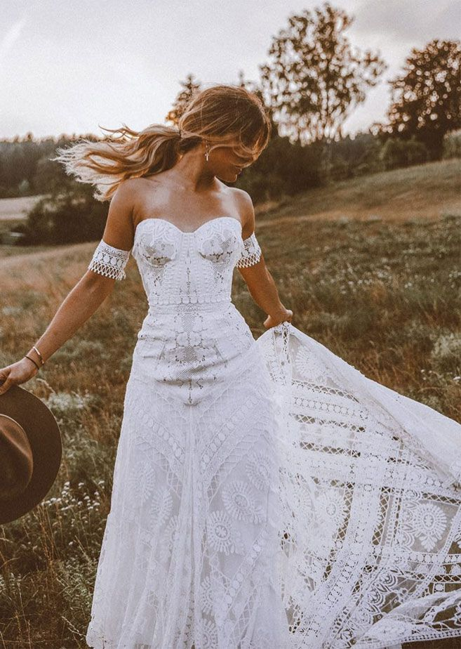 32 Beach Wedding Dresses Perfect For A Destination Wedding, simple wedding dress ,wedding gown #weddingdress #weddinggown