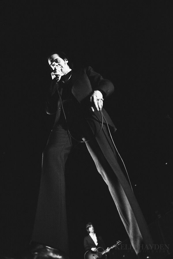 Nick Cave and the Bad Seeds w/ Warpaint | Flickr - Photo Sharing!