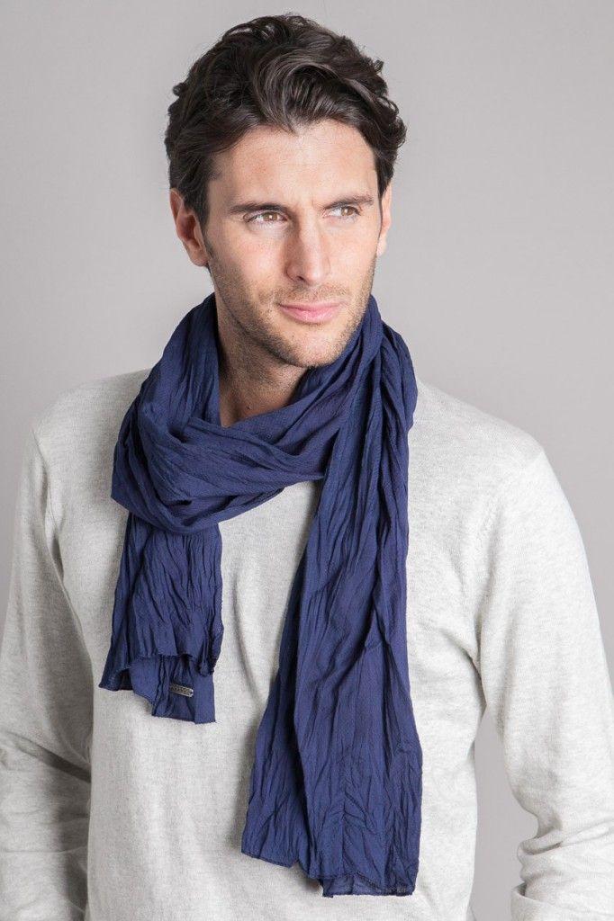 6f87b24706afe Wear it Well: Four Ways to Wear a Men's Scarf | Men's Fashion | Mens ...
