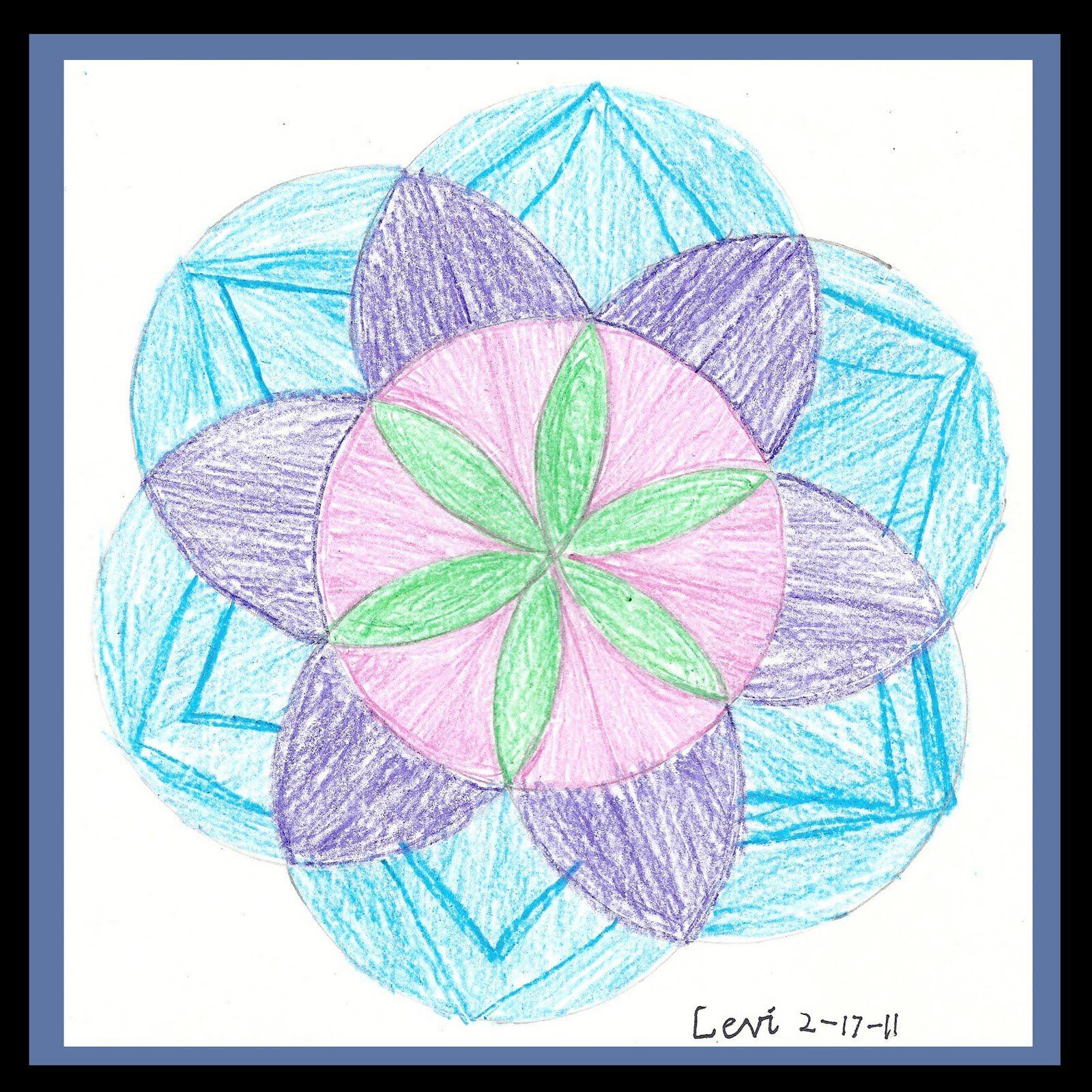 Compass Art Circle Design Pattern Design
