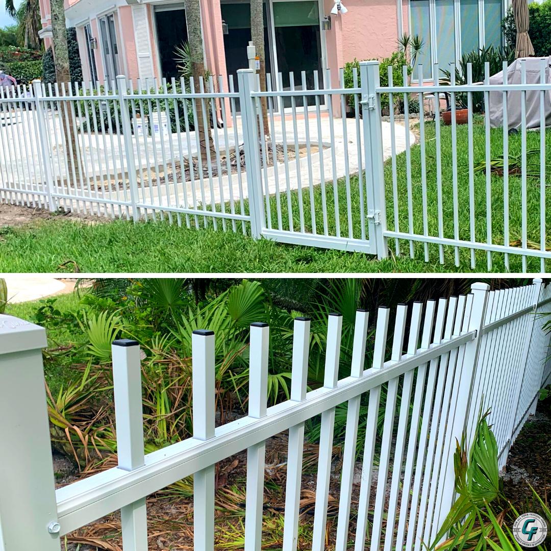Pin On Aluminum Fence