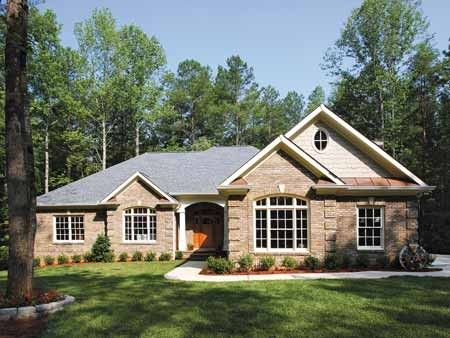 Eplans colonial house plan classic ranch with up to date for Classic ranch house plans