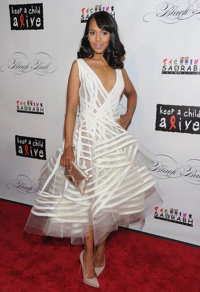 Kerry Washington -- https://www.etsy.com/shop/Whitesrose Go here for your Dream Wedding Dress and Fashion Gown!