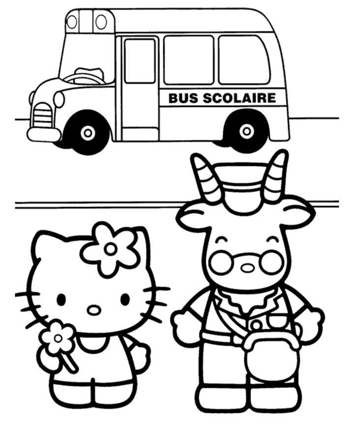 Pin by hazel her on kitty hello pinterest coloriage coloriage hello kitty and coloriage - Coloriage hello kitty en ligne ...