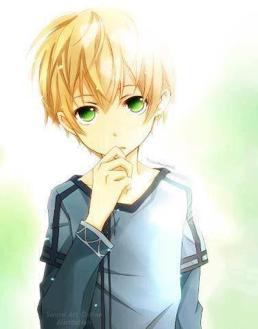 Anime Little Boy Google Search Sword Art Blonde Anime Boy Anime Art Tutorial