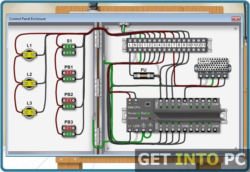Fatek Wiring Diagram Plc | Plc simulator, Plc programming ... on residential plumbing diagrams, residential hvac diagram, house wiring simulator, residential breaker panel,