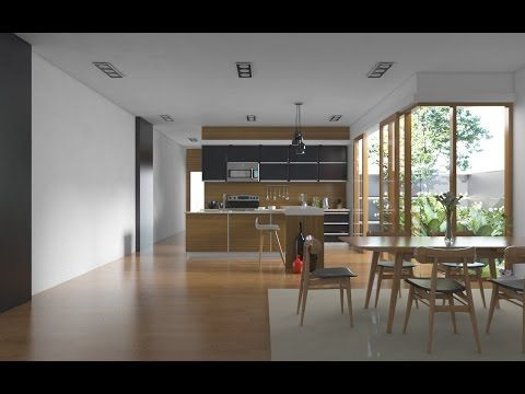 How Realistic Kitchen Set With Vray Sketchup - YouTube