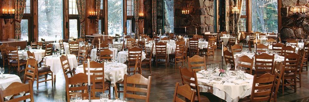 The ahwahnee dining room for brunch ahwahnee hotel for National dining rooms