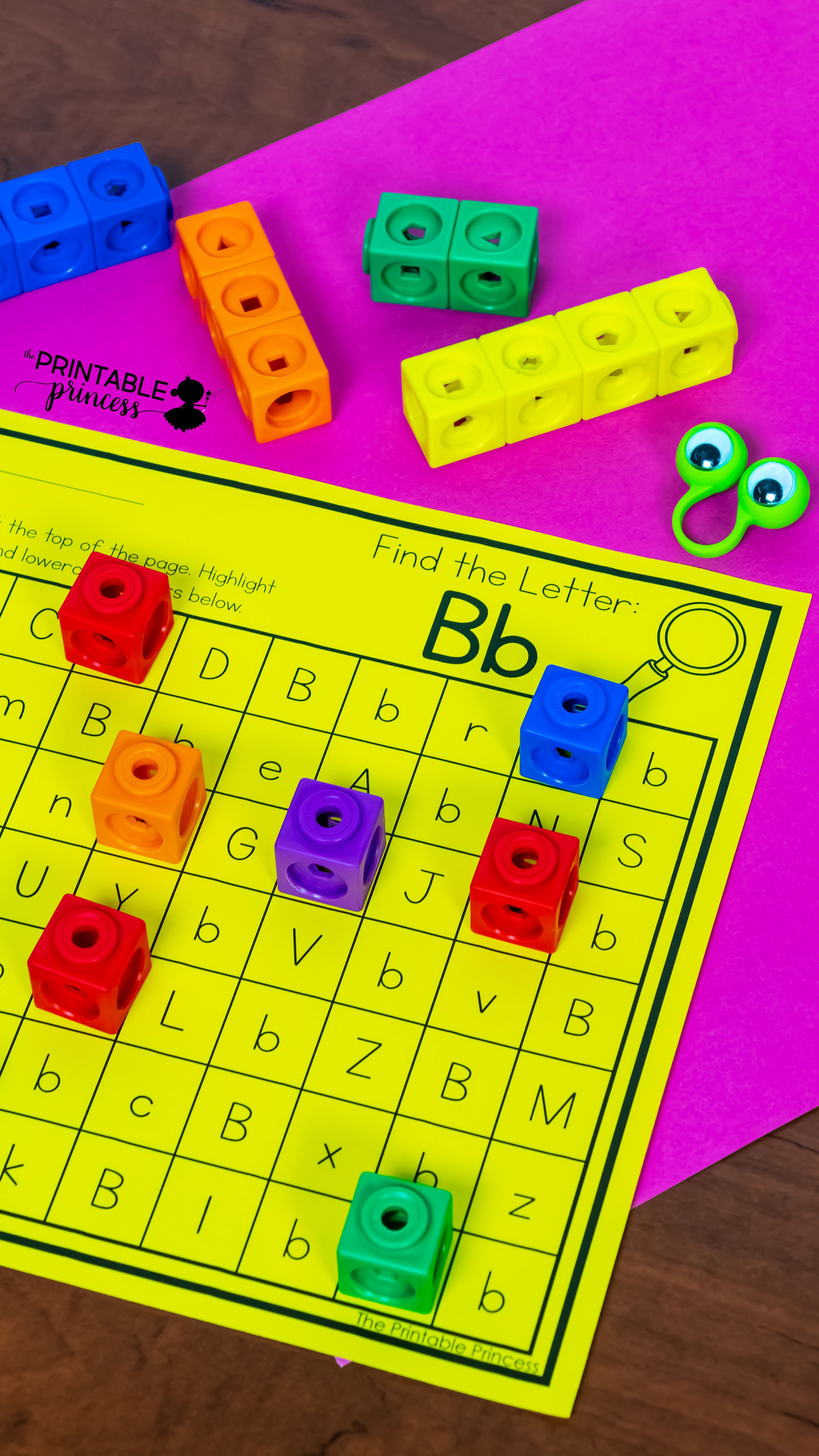 Find The Letter Letter Recognition Worksheets