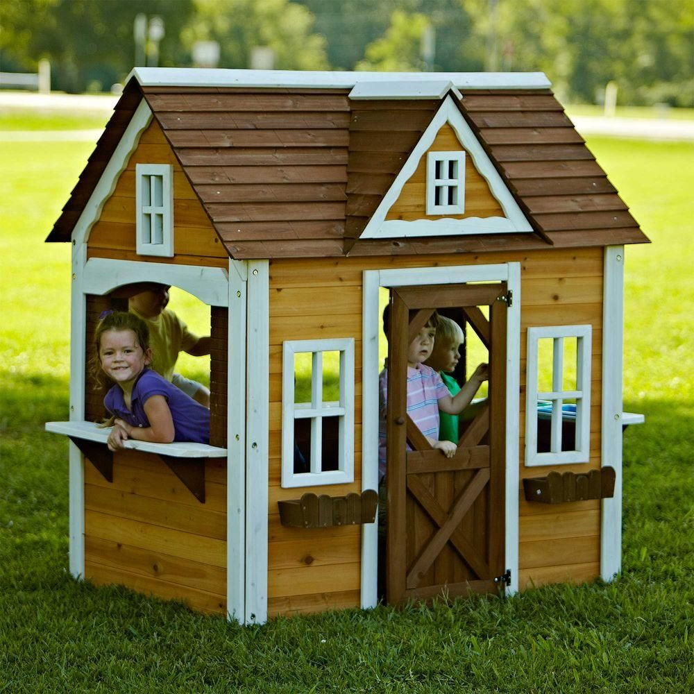 home depot outdoor playhouse cheaper