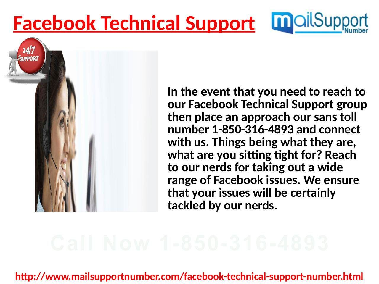 Our Facebook Technical Supportteam is very wellknown in